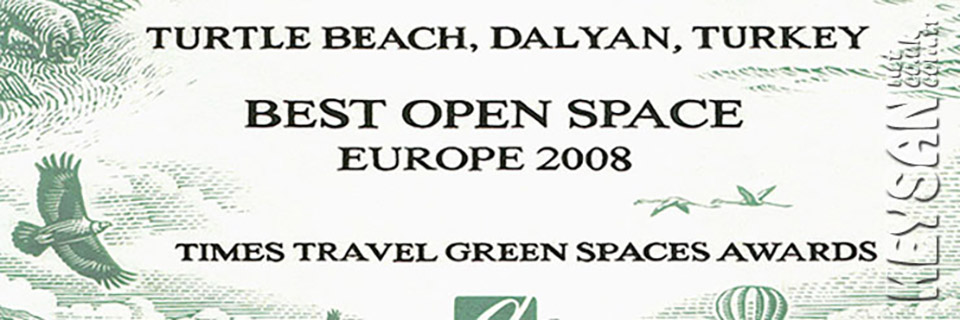 Dalyan iztuzu best open spaces in Europe